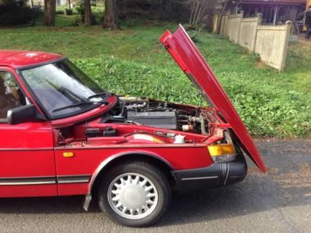 1993 Saab 900S engine