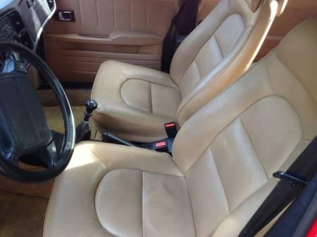 1993 Saab 900S interior