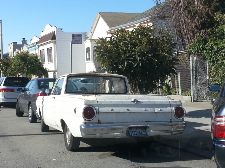 1964 Ford Falcon Ranchero on the street