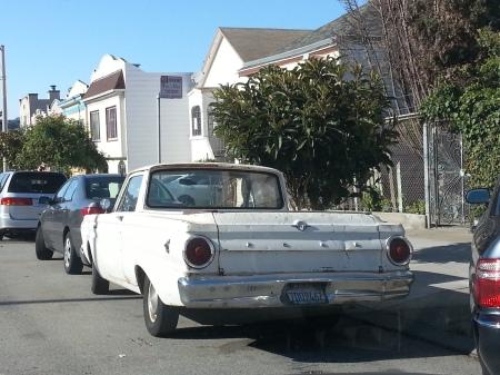 1964 Ford Falcon Ranchero on the street