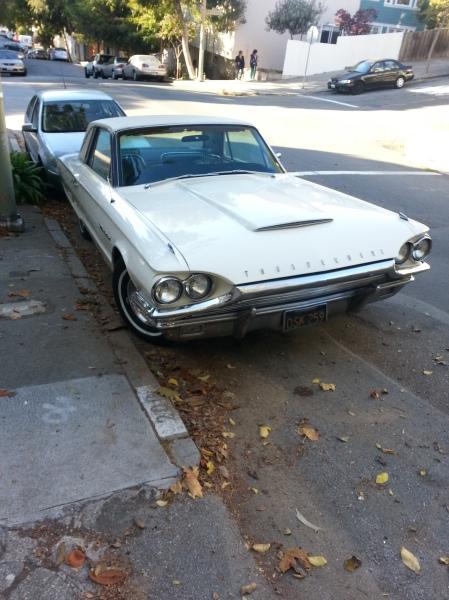 1964 Ford Thunderbird Landau on the street