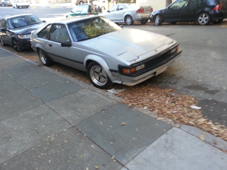 1984 Toyota Celica on the street