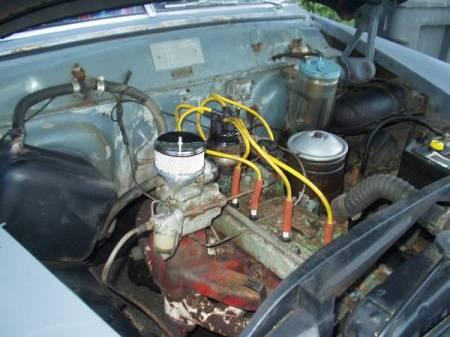 1951 Kaiser Manhattan engine