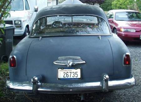 1951 Kaiser Manhattan rear