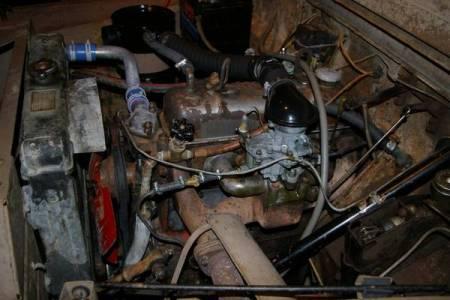 1960 Austin Gipsy engine