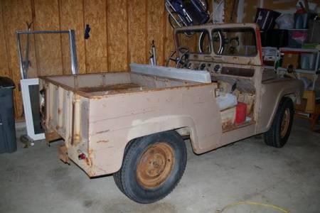 1960 Austin Gipsy right rear