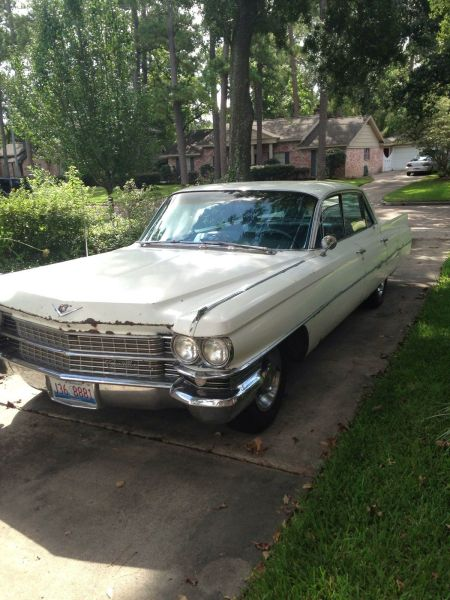 1963 Cadillac Sedan DeVille for sale left front