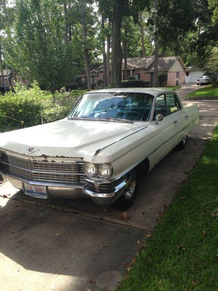 1963 Cadillac Sedan DeVille for sale left front