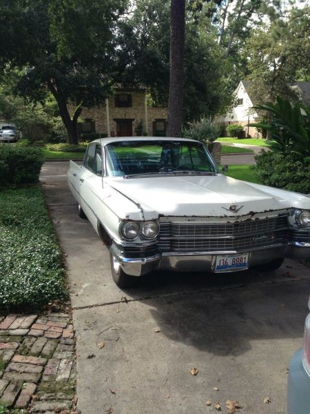1963 Cadillac Sedan DeVille for sale right front