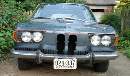 1967 BMW 2000CS front