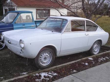 1967 Fiat 850 coupe left front