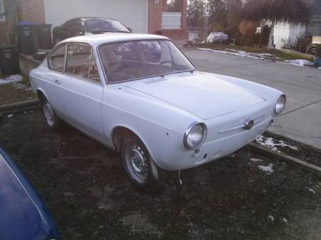 1967 Fiat 850 coupe right front
