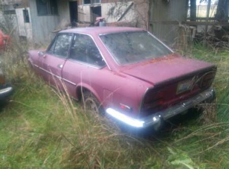 1970 Fiat 124 Coupe hoard sale