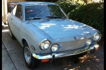 1970 Fiat 850 coupe for sale right front