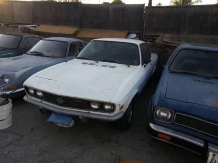 1971 Opel Manta left front