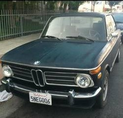 1972 BMW 2002 left front