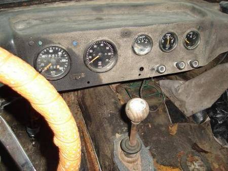 1972 Bradley GT interior