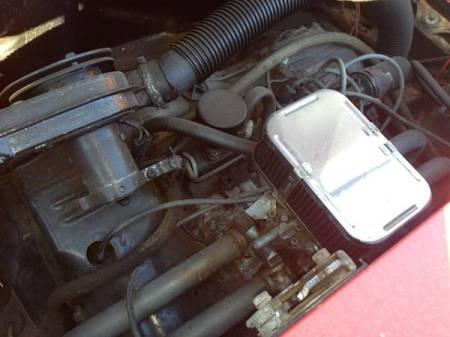 1972 Porsche 914 for sale engine