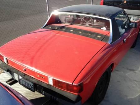 1972 Porsche 914 for sale right rear