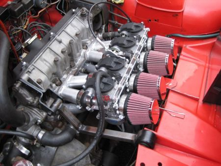 1973 Fiat 128 Sport L for sale engine