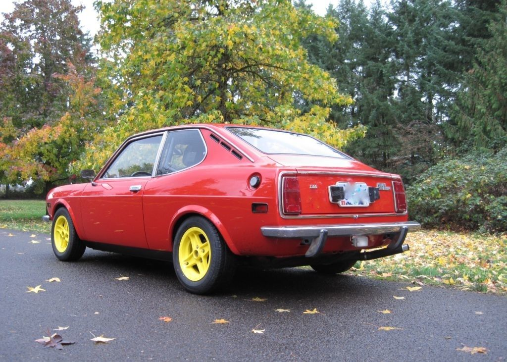 future brothers 1973 fiat 128 sport l rusty but trusty. Black Bedroom Furniture Sets. Home Design Ideas