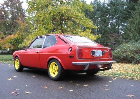 1973 Fiat 128 Sport L for sale left rear