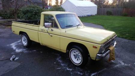 1973 Ford Courier right front