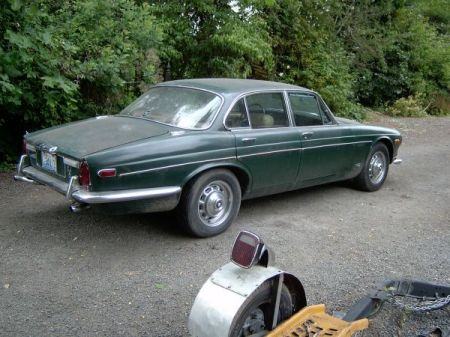 1973 Jaguar XJ6 right rear