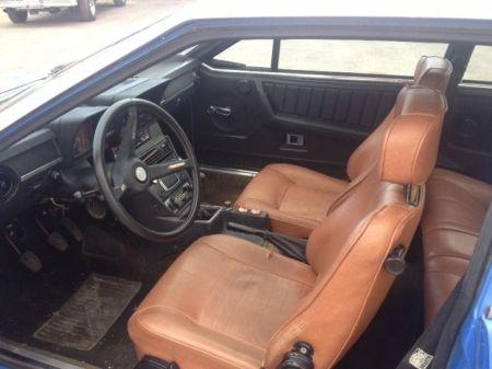 1976 Alfa Romeo Alfetta GT interior