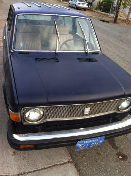 1977 Fiat 128 Familiare wagon front