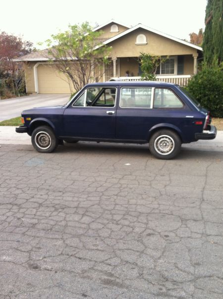 1977 Fiat 128 Familiare wagon left rear