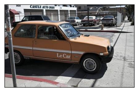 1978 Renault LeCar yellow right front