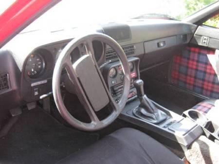 1979 Porsche 924 Sebring interior