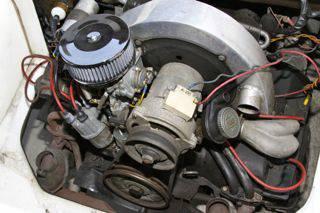 1983 Fiberfab MG TD replica engine