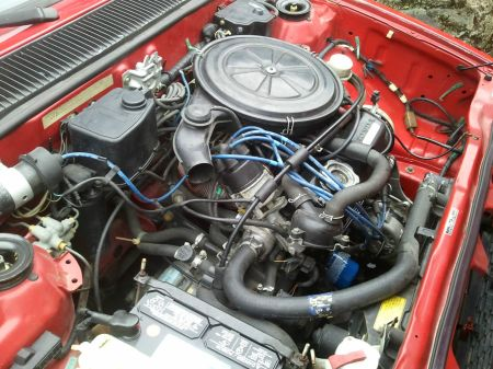 1983 Honda Civic S for sale engine