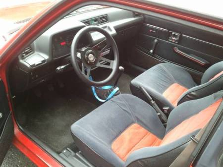 1983 Honda Civic S for sale interior