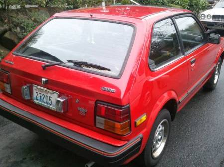 1983 Honda Civic S for sale right rear