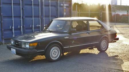 1983 Saab 900 turbo for sale left front