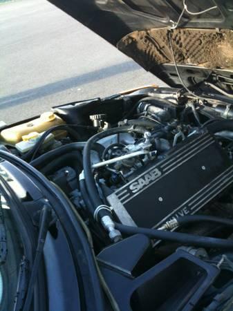 1985 Saab 900 turbo for sale engine