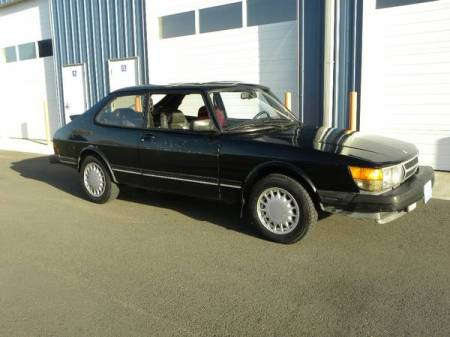 1985 Saab 900 turbo for sale right front