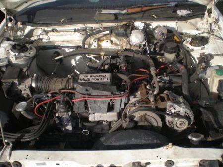 1986 Subaru XT DL engine
