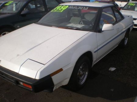 1986 Subaru XT DL left front