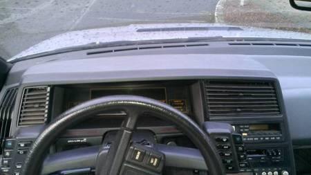 1986 Subaru XT turbo interior
