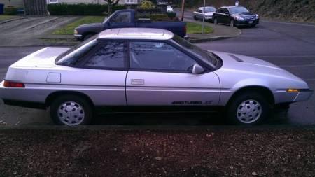 1986 Subaru XT turbo right side