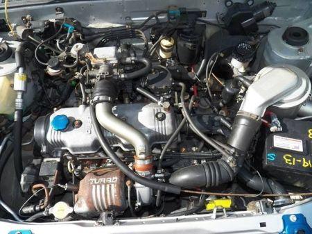 1988 Isuzu IMark Turbo sedan for sale engine