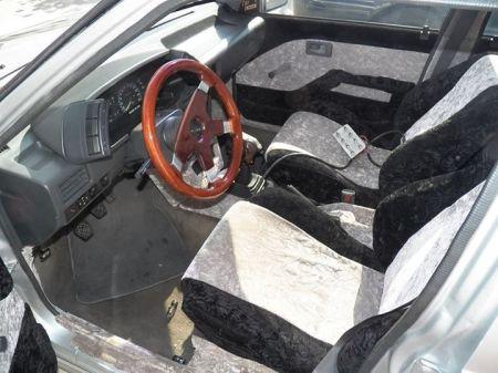 1988 Isuzu IMark Turbo sedan for sale interior