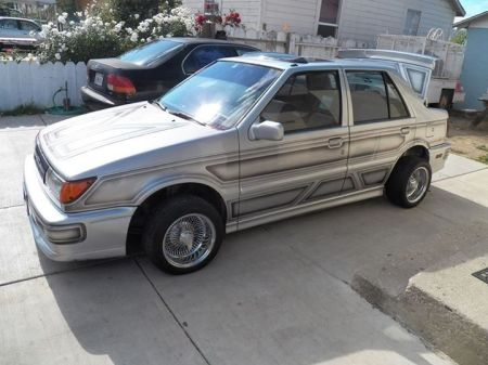 1988 Isuzu IMark Turbo sedan for sale left front