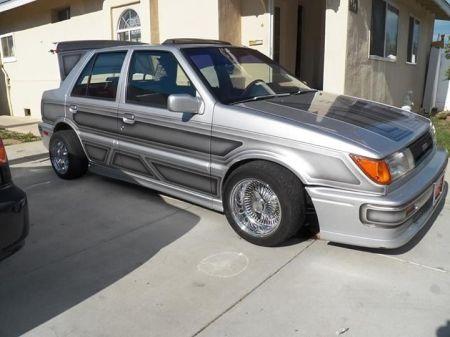 1988 Isuzu IMark Turbo sedan for sale right front