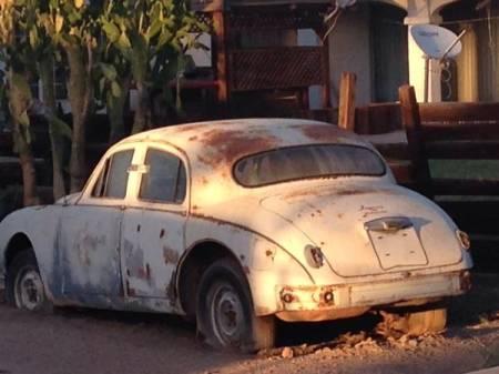 1957 Jaguar Mk 1 left rear
