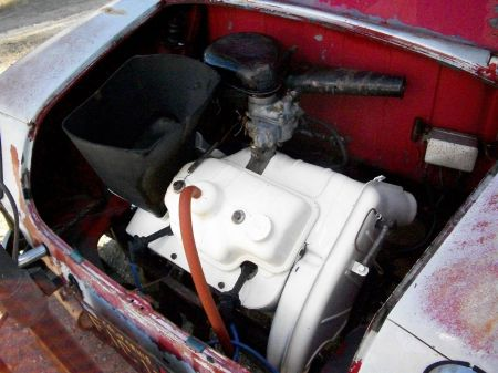 1959 NSU Prinz for sale engine